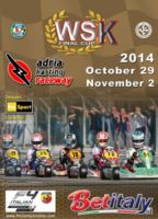 WSK PROMOTION CELEBRATES THE 2014 SEASON WITH ITS GREAT EVENT WSK FINAL CUP. THE RACE INAUGU