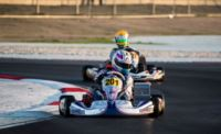 WSK FINAL CUP: FASTEST TIMES SET BY ARDIGÒ (I - TONY KART-VORTEX KZ2), NIELSEN (DK – KOSMIC-VORTEX KF), VARTANYAN (RUS – TONY KART-VORTEX KFJ) AND FUSCO (I – LENZO-LKE 60MINI).