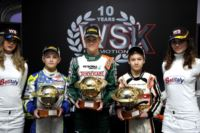 THE WSK CHAMPIONS CUP, FIRST EVENT OF THE 2015 WSK SEASON, HAS JUST AWARDED THE WINNERS NIELSEN (DK– TONY KART-VORTEX KF), SARGEANT (USA – FA ALONSO-VORTEX KFJ) AND HAUGER (N– CRG-LKE 60MINI)