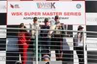 THE WSK SUPER MASTER SERIES OF ADRIA (ITA) AWARDS THE WINNERS OF THE FIRST ROUND: ARDIGÒ (I - TONY KART-VORTEX KZ2), BASZ (PL - KOSMIC-VORTEX KF), NOVALAK (GB – TONY KART-VORTEX KFJ) AND MICHELOTTO (I – ENERGY-IAME 60MINI).