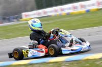 WSK SUPER MASTER SERIES IN CASTELLETTO  (PAVIA - ITALY): AFTER THE HEATS, POLE POSITIONS FOR DE CONTO (I – CRG-MAXTER KZ2), NIELSEN (DK – TONY KART-VORTEX KF) AND MORETTI (I – TONY KART-TM 60MINI). NOVALAK (GB – TONY KART-VORTEX) IS THE MOST WINNING IN KF