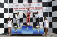 THE WSK SUPER MASTER SERIES FINISHES IN SARNO (I). THE RACE WINNERS ARE PUHAKKA (FIN – CRG-MAXTER KZ2), TIENE (I – CRG-PARILLA KF), DE PAUW (B – BIRELART-PARILLA KFJ) AND MARSEGLIA (I – ZANARDI-TM 60MINI).