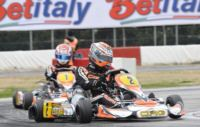 VERSTAPPEN (NL – CRG-TM KZ1) AND NEGRO (I – DR-TM KZ2) WIN TODAY'S FINAL 1 AT THE WSK EURO SERIES IN LA CONCA. GREAT DUELS IN THE OTHER CATEGORIES WHILE WAITING FOR TOMORROW'S FINALS, LIVE ON THE WEB ON WSK.IT AND STOPANDGO.TV.